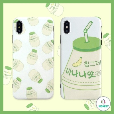 Jual Softcase Korean Banana Fruit Milk Drink Bottle Glossy For Iphone Jakarta Timur Daisybranded Tokopedia