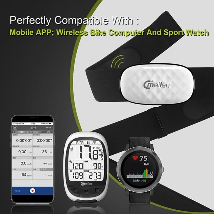 harga Ant+ heart rate monitor chest strap - golife garmin suunto bryton Tokopedia.com