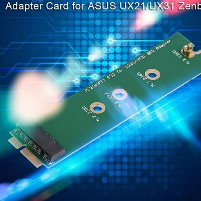 Foto Produk Adapter SSD M.2 NGFF to SSD ASUS Zenbook UX21 UX31 UX21E UX21A dari mikara