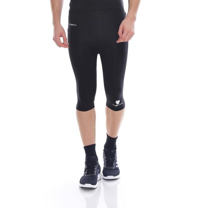 Jual Celana Olahraga Half Pants Hitam Putih Legging Sport Running Pria Hitam M Kota Bandung Aka Shop Belanja Tokopedia