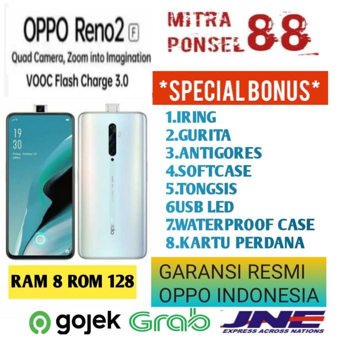 Foto Produk OPPO RENO 2F RAM 8/128 GARANSI RESMI OPPO 1 TAHUN - LAKE GREEN dari Mitra Ponsel 88