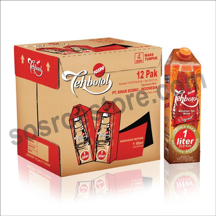 jual teh botol kotak sosro unmatched 1 liter jakarta barat yulike tokopedia tokopedia