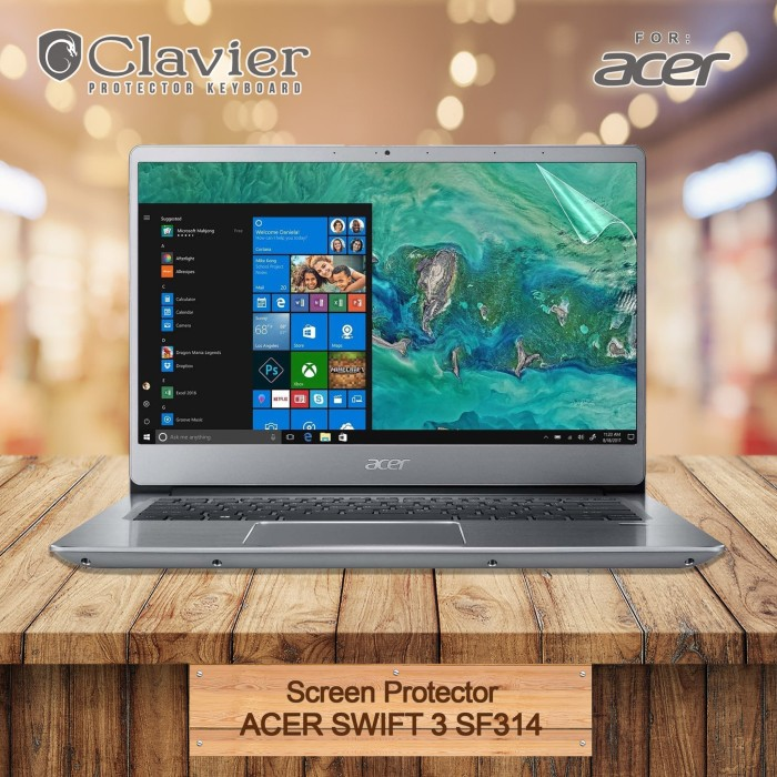 Foto Produk Screen Protector Acer Swift 3 SF314-41G-R7AX SF314-56G-53CA Anti Glare dari Clavier
