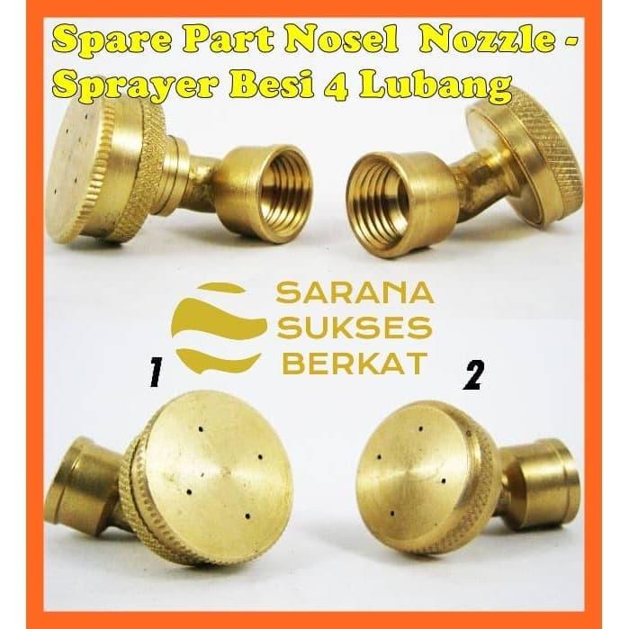 Foto Produk Spare Part Nosel Nozzle - Sprayer Besi 4 Lubang dari Sarana Sukses Berkat