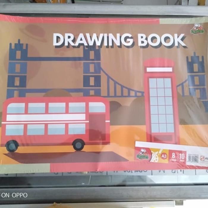 Jual Grosir Buku Gambar Dodo A3 Besar Buku Gambar A3 Dodo Drawing Book Dodo Kab Tangerang Atk House Tokopedia
