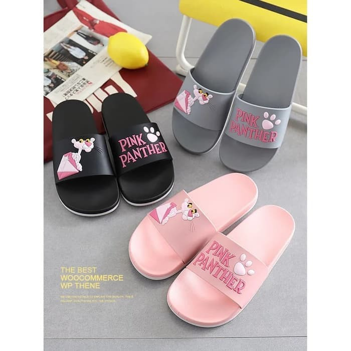 Foto Produk Sandal Pink Panther / Sendal Selop Pink Panther dari Lucky 17