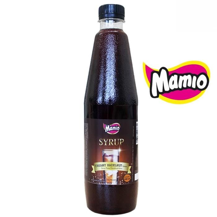 Foto Produk Hazelnut Syrup Mamio | Creamy Hazelnut Flavour dari CV. Herbal House Lestari