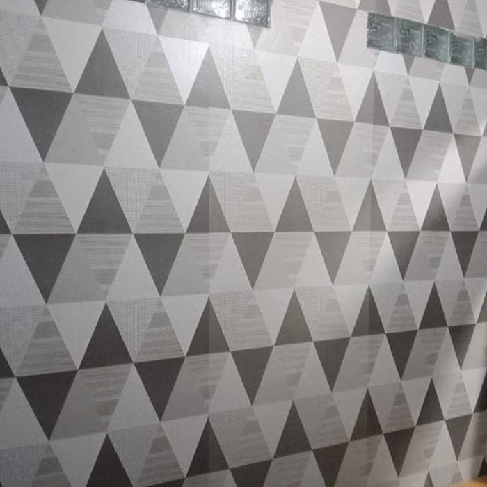 Jual Wallpaper Murah Uk 45cmx10m Kode 6219 Segitiga Hitam Putih Kota Bekasi Wppmurah Tokopedia
