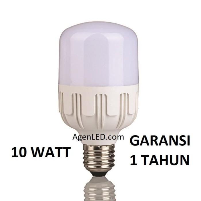 Foto Produk Lampu LED 10W Bohlam 10 w watt white Bulb jumbo 6 8 9 10 PUTIH KAPSUL dari AgenLED
