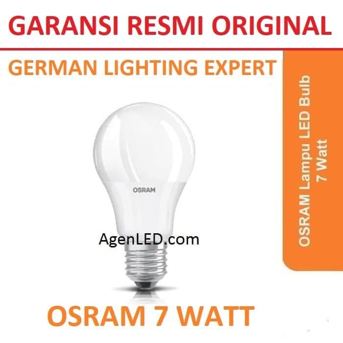 Foto Produk OSRAM Lampu LED 7W bohlam 7 watt white bulb 7watt PUTIH 7 w ORIGINAL dari AgenLED