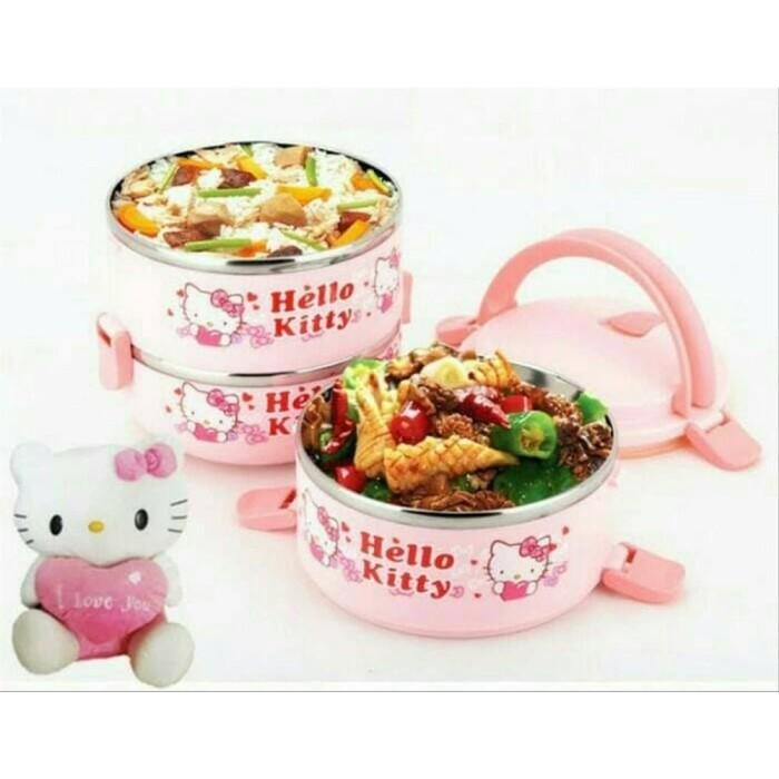 Jual Nat Rantang 3 Susun Hello Kitty Lunch Box Jakarta Utara Onlinenatasha Tokopedia