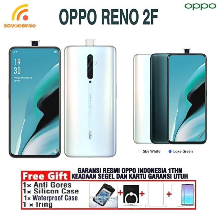 Foto Produk OPPO RENO 2F Ram 8/128GB Garansi Resmi OPPO INDONESIA - Putih dari OVANST0RE