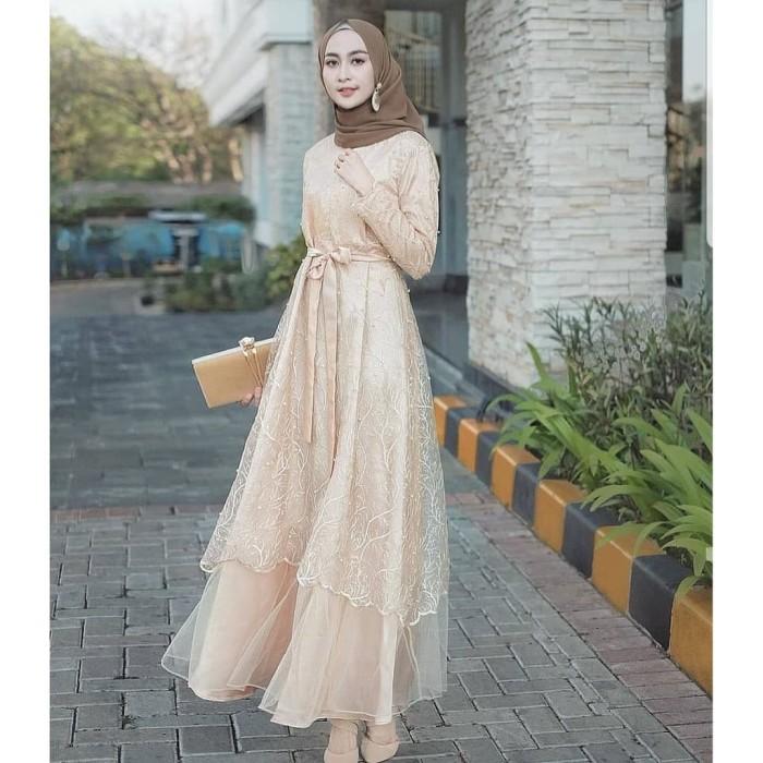 Jual Bd24 Jildan Dress Outfit Kondangan Gamis Brokat Terlaris Kota Tangerang Selatan Dwshopees Tokopedia
