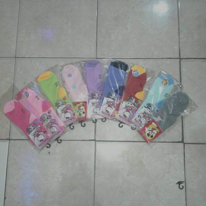 Foto Produk kaos kaki anak wanita warna warni dari mulyadistore34
