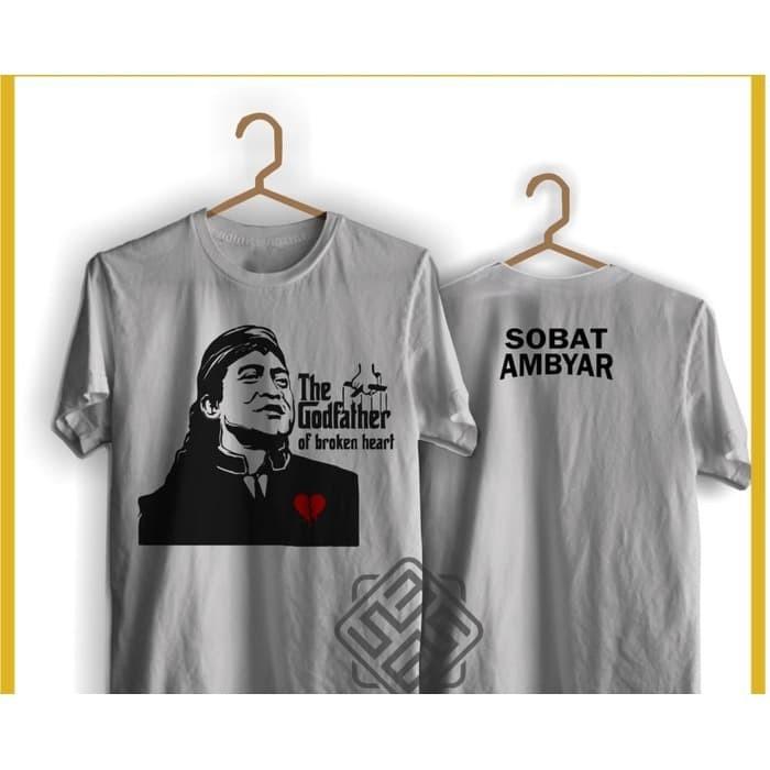 Jual Baju Tshirt Kaos Sobat Ambyar Didi Kempot Cidro Godfather