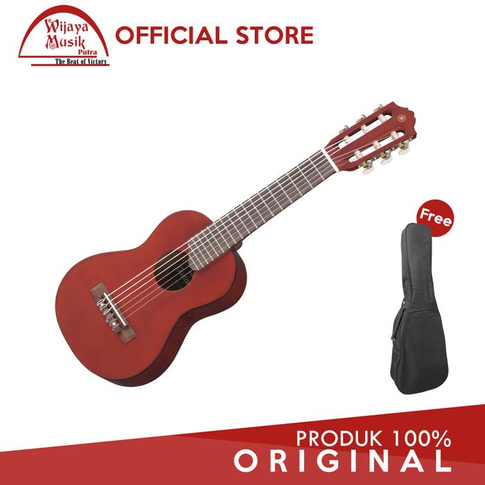 Foto Produk Yamaha Gitar Mini GL-1 / GL1 / Guitalele - Persimmon Brown + Softcase dari W Musik