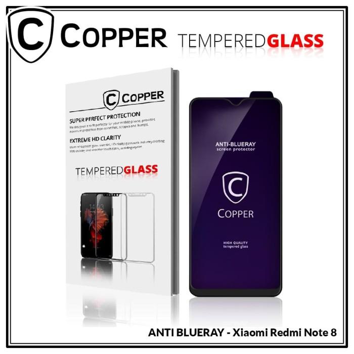 Foto Produk Xiaomi Redmi Note 8 - COPPER Tempered Glass FULL BLUE RAY dari Copper Indonesia