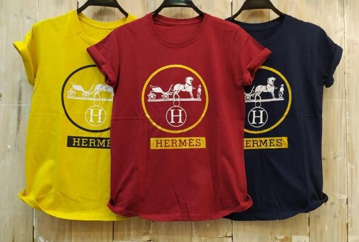 Foto Produk T-Shirt Tumblr Tumbler Tee Kaos Wanita Kualitas Bagus Size L TSW352 dari Jardin Fashion