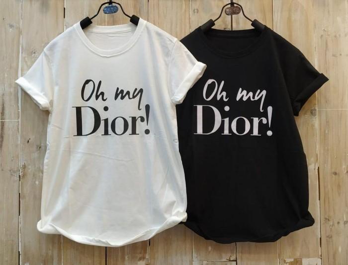 Foto Produk T-Shirt Tumblr Tumbler Tee Kaos Wanita Kualitas Bagus Size L TS450 dari Jardin Fashion