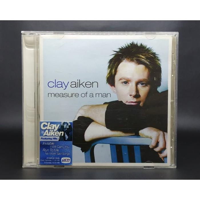 harga Cd clay aiken - measure of a man Tokopedia.com