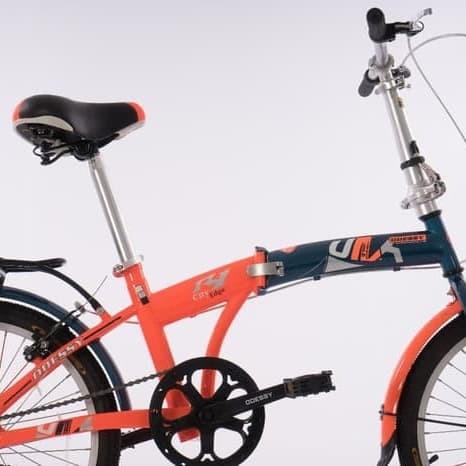 harga Sepeda lipat odessy 1 speed 20 inch Tokopedia.com