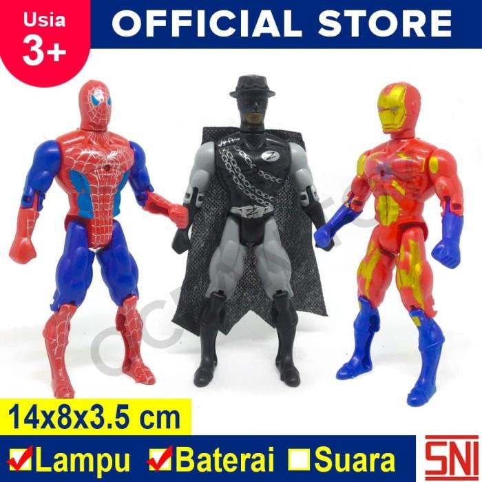 Foto Produk Mainan Anak Super Hero Avengers / Marvel Isi 3 pcs - 8033B dari Ocean Toy Indo