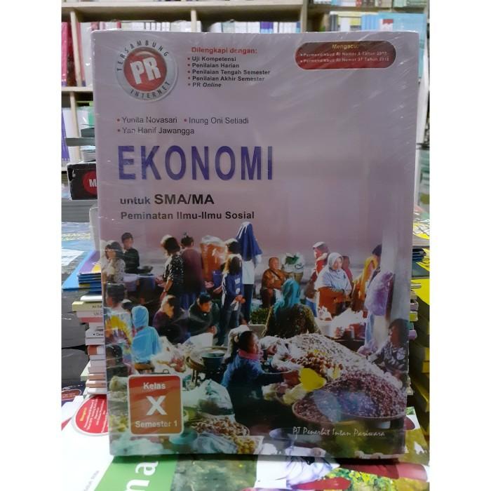 Jual Pr Intan Pariwara Ekonomi Kelas 10 Sma Semester 1 Peminatan Revisi Kota Depok Yumiyoza Olshop Tokopedia