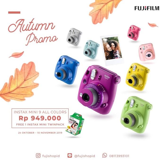 harga Fujifilm instax mini 9 - lime green Tokopedia.com
