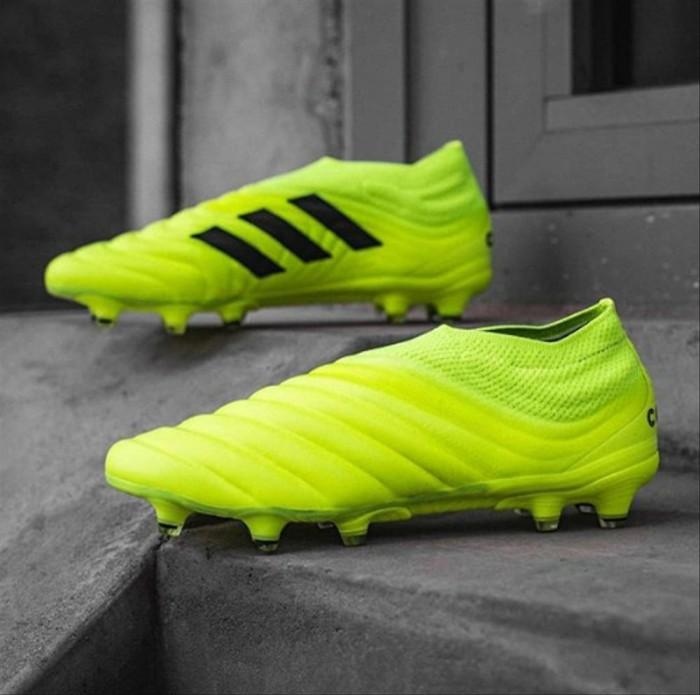 Jual Sepatu Bola Adidas Copa 19 Plus Firm Ground Solar 7 Yellow