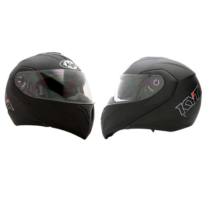 harga Helm kyt rrx modular full face black fullface visor hitam Tokopedia.com