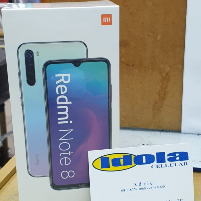 Foto Produk xiaomi note 8 4/64 garansi resmi TAM - Putih dari Idola Cellular