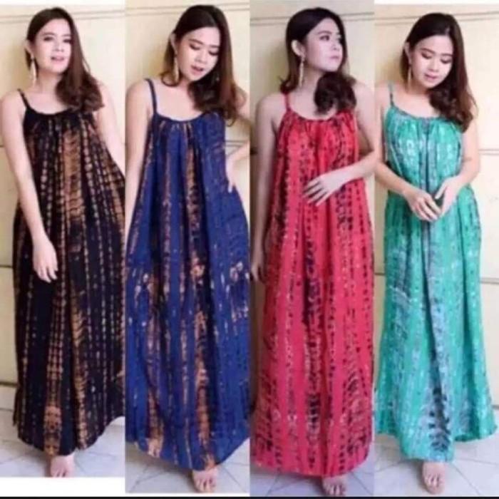 Foto Produk Dress Bali Panjang Lobek Murah Bahan Adem dari Azam OlShop