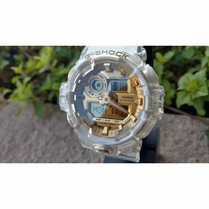 Foto Produk Jam Tangan G-shock GA-735-E LIMITED EDITION - Putih Full dari Grosiran GS