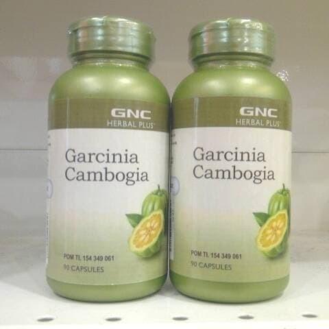 Jual Pure Import Gnc Garginia Cambogia 500 Mg Supplement Diet