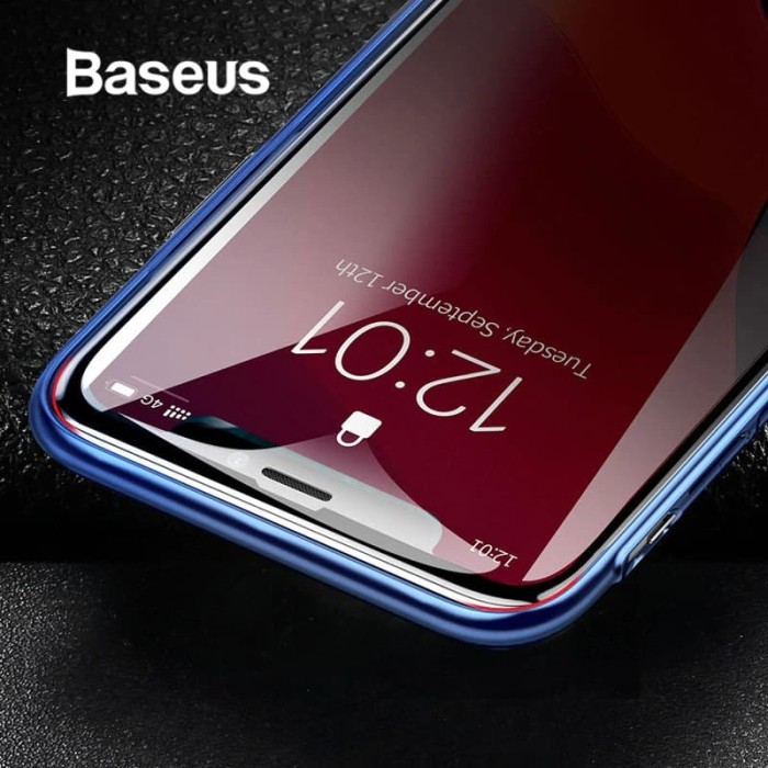 Foto Produk BASEUS Anti Privacy Iphone 11 PRO MAX X XS MAX Tempered Glass Spy - 11 PROMAX XSMAX dari HimTech