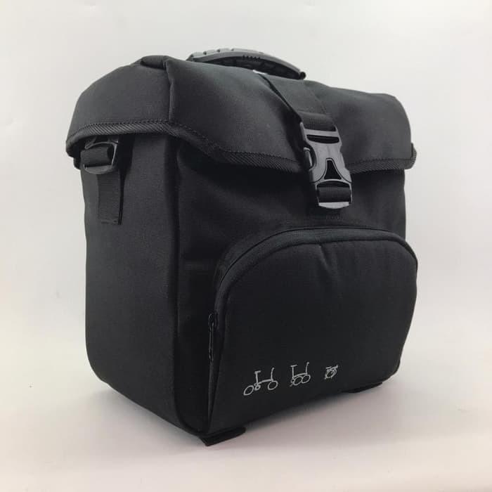 Jual Tas Front Block Bag Brompton Sepeda Lipat - Tas Depan