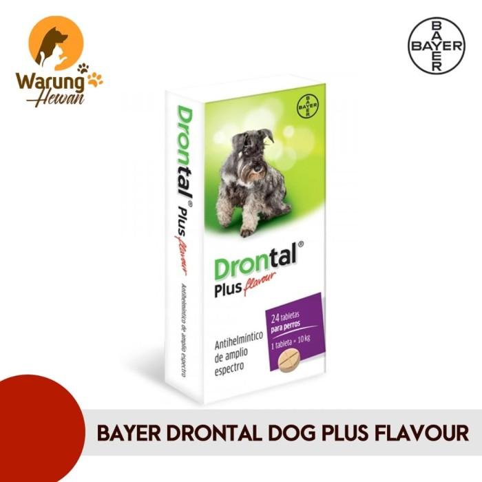 Jual Drontal Plus Flavour Obat Cacing Anjing Jakarta Utara Warung Hewan Tokopedia