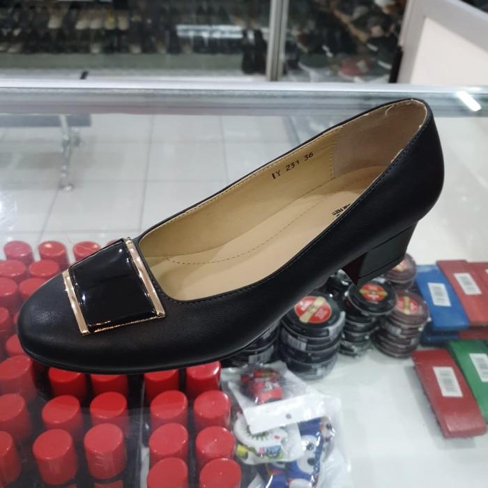 Jual Sepatu Heels Wanita Donatello Iy231 Hitam 36 Kab Garut