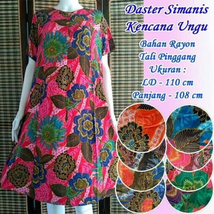 Foto Produk Daster Kencana Ungu Simanis Label Biru dari zona_daster.id
