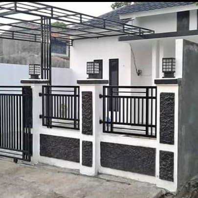 Jual Pagar Besi Minimalis Kota Bekasi Qienandecor Tokopedia