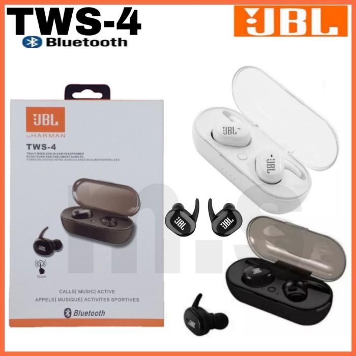 Jual Headset Bluetooth Jbl Tws 4 Wireless Original Hgd15155 Jakarta Pusat Selma Worabay Tokopedia