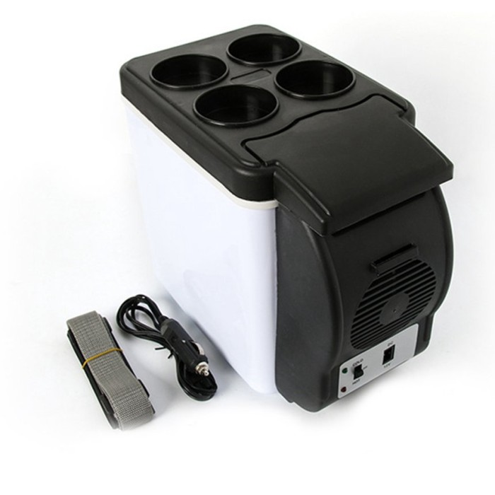 12V Portable Car Small Refrigerator Fridge Cooler /& Warmer Enough CapacityPG