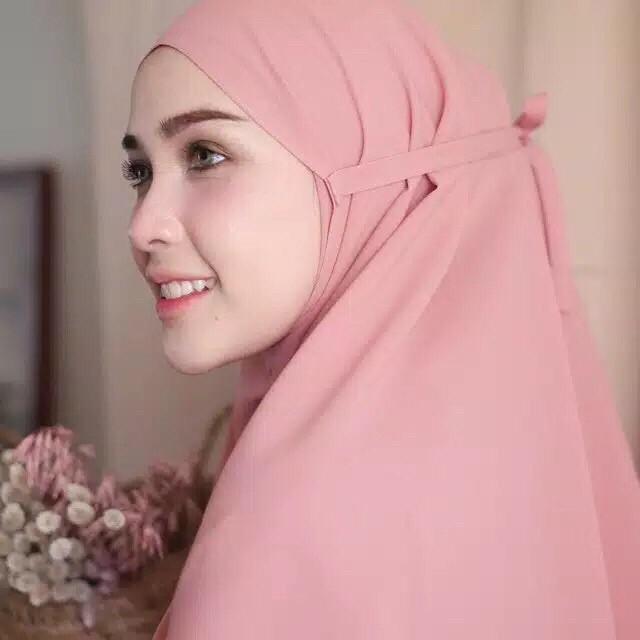 Hijab Bergo Maryam Diamond Jilbab Voal