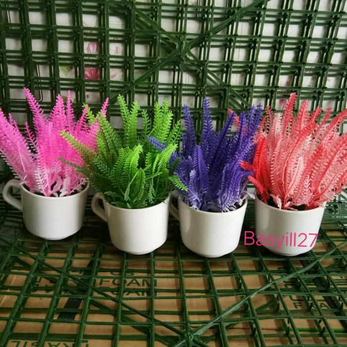 Jual Bunga Palsu Artificial Dekorasi Bunga Jagung Tanaman Hias