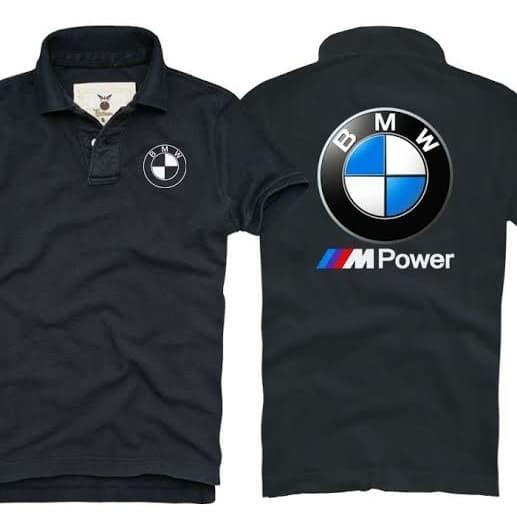 Foto Produk Kaos Kerah - Polo Shirt BMW Logo Depan Bordir dari Dodi Apparel