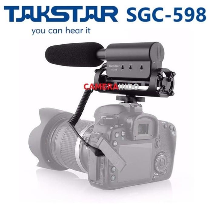 Foto Produk Takstar SGC-598 Shotgun Microphone DSLR Camcorder MIC RecordIng dari cameraindo