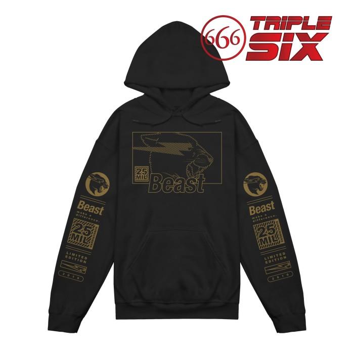 Foto Produk Jaket Hoodie Jumper Pullover Youtuber Mr Beast 25 Mill Subscribers dari Triple Six