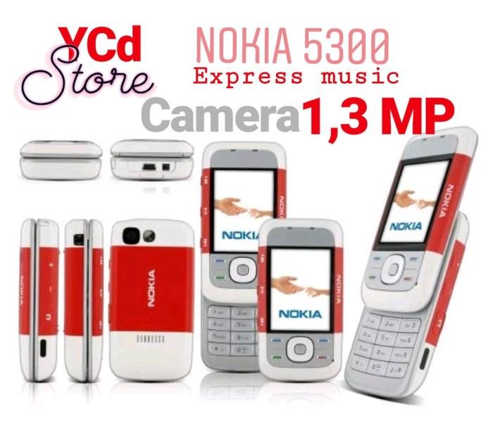 Foto Produk Hp Nokia 5300 express music New - hp jadul suku cadang dari kenansshop