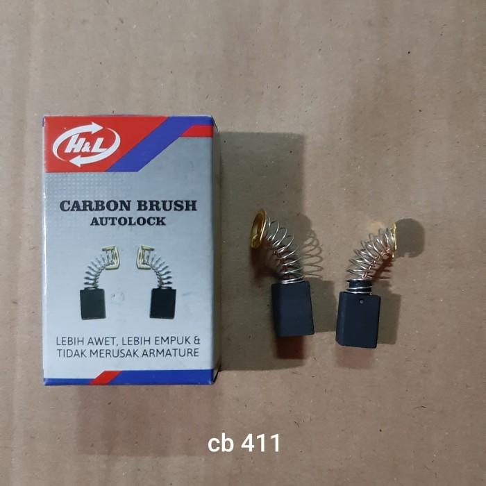 Foto Produk Carbon Brush CB411 CB 411 Bostel Arang Sepul dari Kedai Perkakas