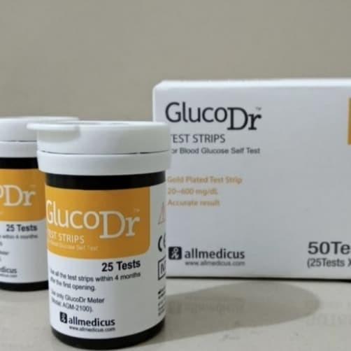 Foto Produk Strip GlucoDR Biosensor dari Tokita168